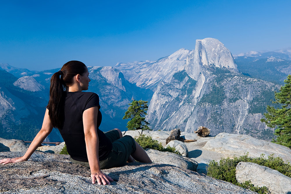 Magnificent View of Half Dome