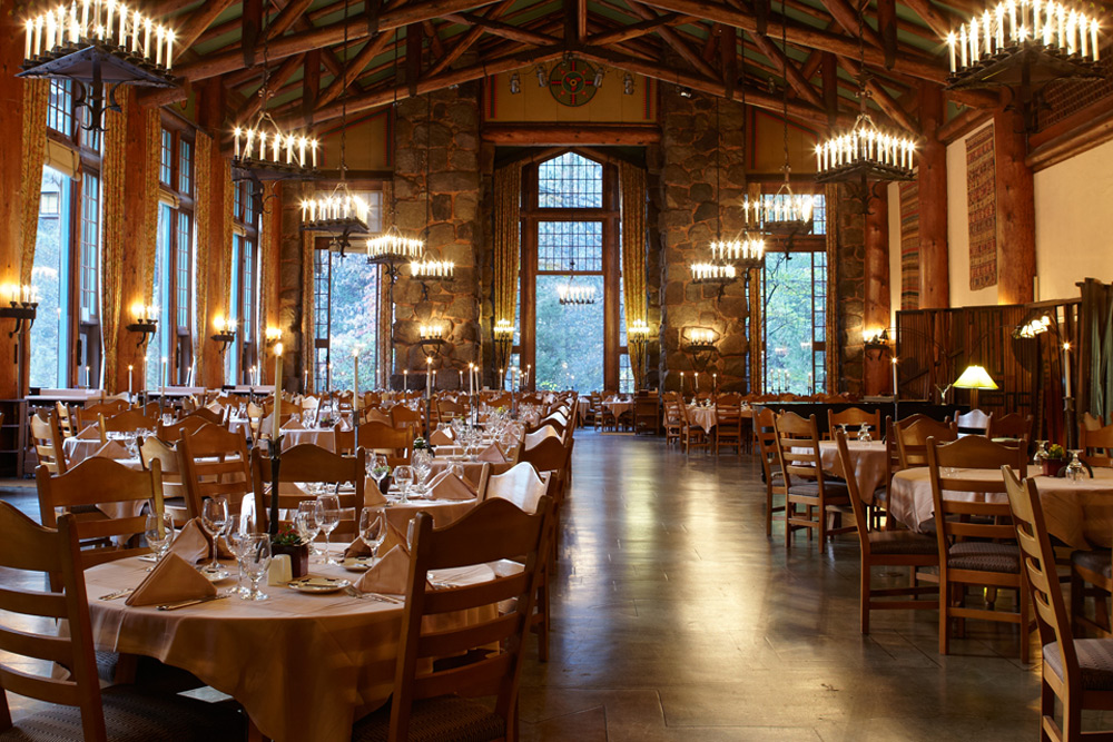 The Majestic Yosemite Hotel In Yosemite National Park CA Adorable Ahwahnee Dining Room