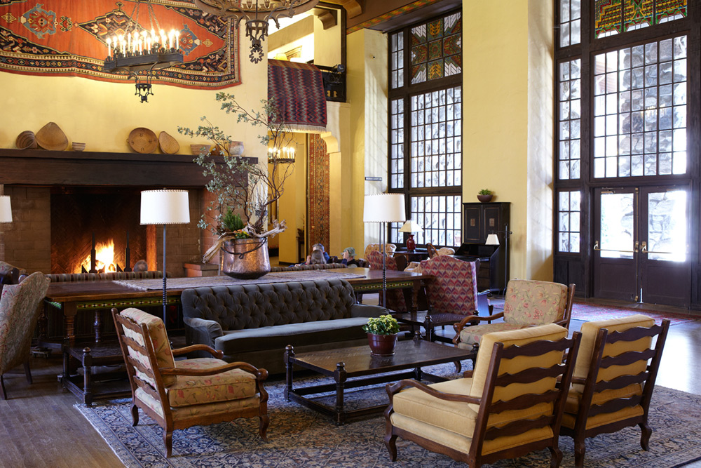 The Majestic Yosemite Hotel Great Lounge
