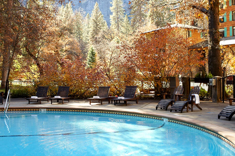 The Majestic Yosemite Hotel Heated Pool