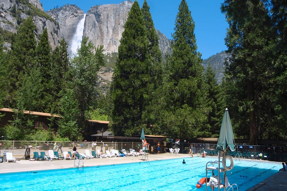 Yosemite Valley Lodge In National Park CA