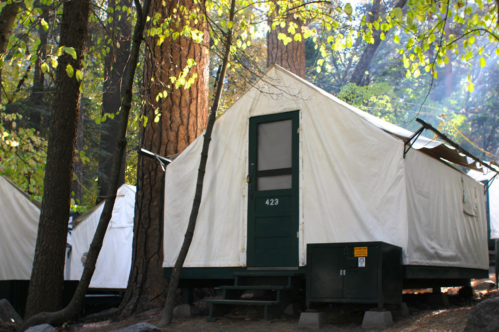 Curry Village Tent Cabin