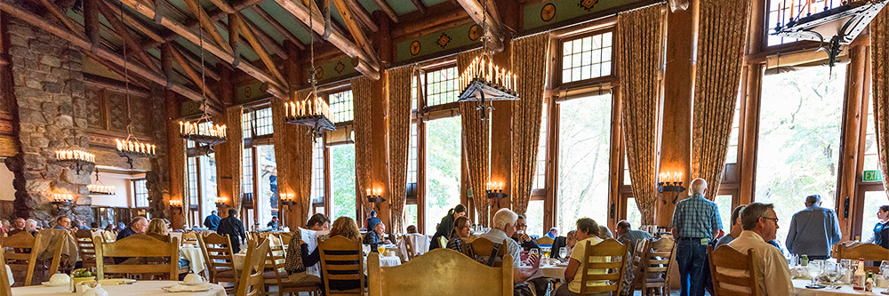 The majestic yosemite hotel dining yosemite national for Dining room operations