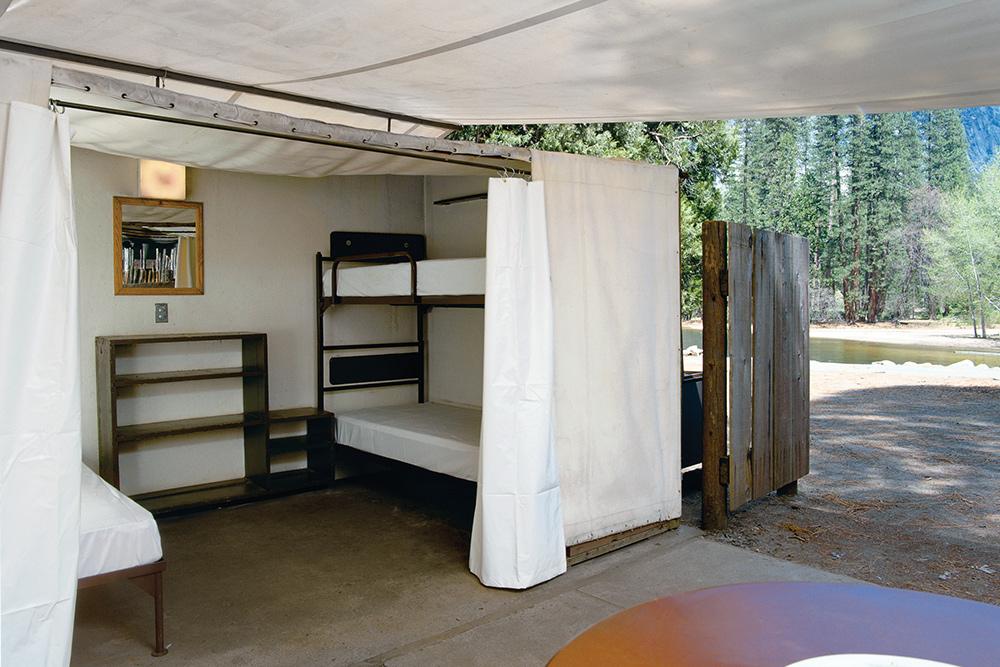 Housekeeping Camp in Yosemite National Park CA