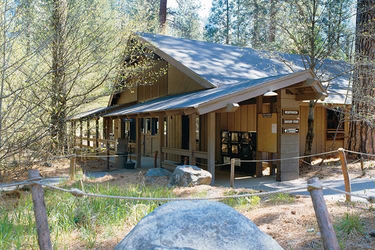 dome half with cabin bath com national yosemite in lodging village cabins park travelyosemite ca
