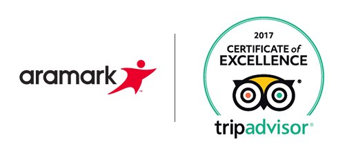 Aramark Destinations & Attractions earn 17 TripAdvisor Certificates of Excellence