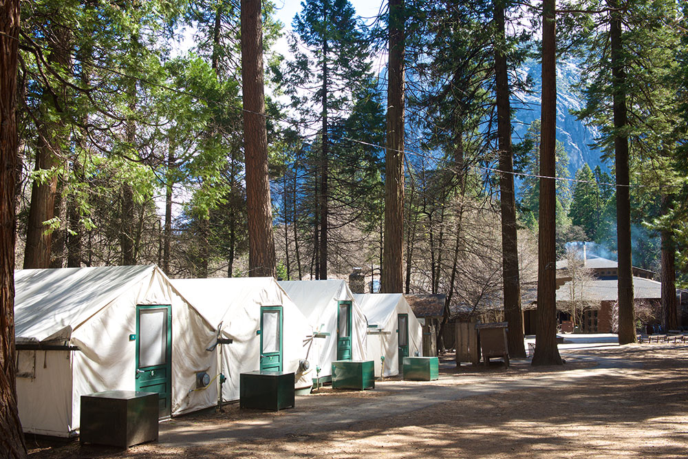 Half Dome Village : tent cabins in yosemite - memphite.com