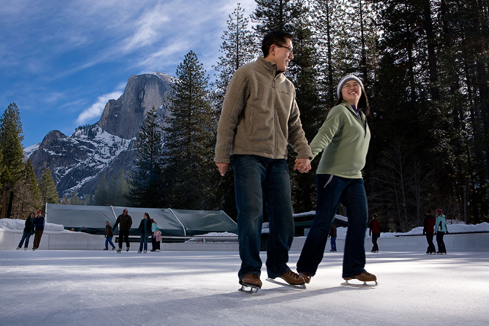 Half Dome Village Ice Rink