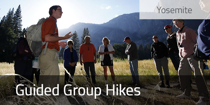 Guided Yosemite Group Hikes