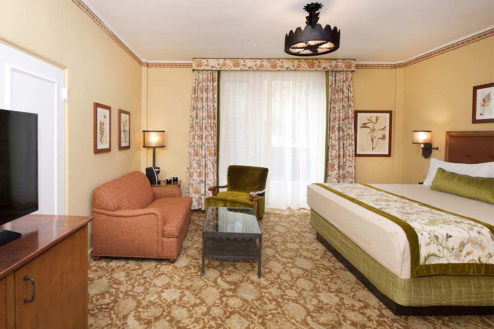 Hotel Room at The Majestic Yosemite Hotel