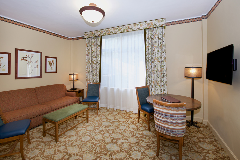 Junior Suite at The Majestic Yosemite Hotel