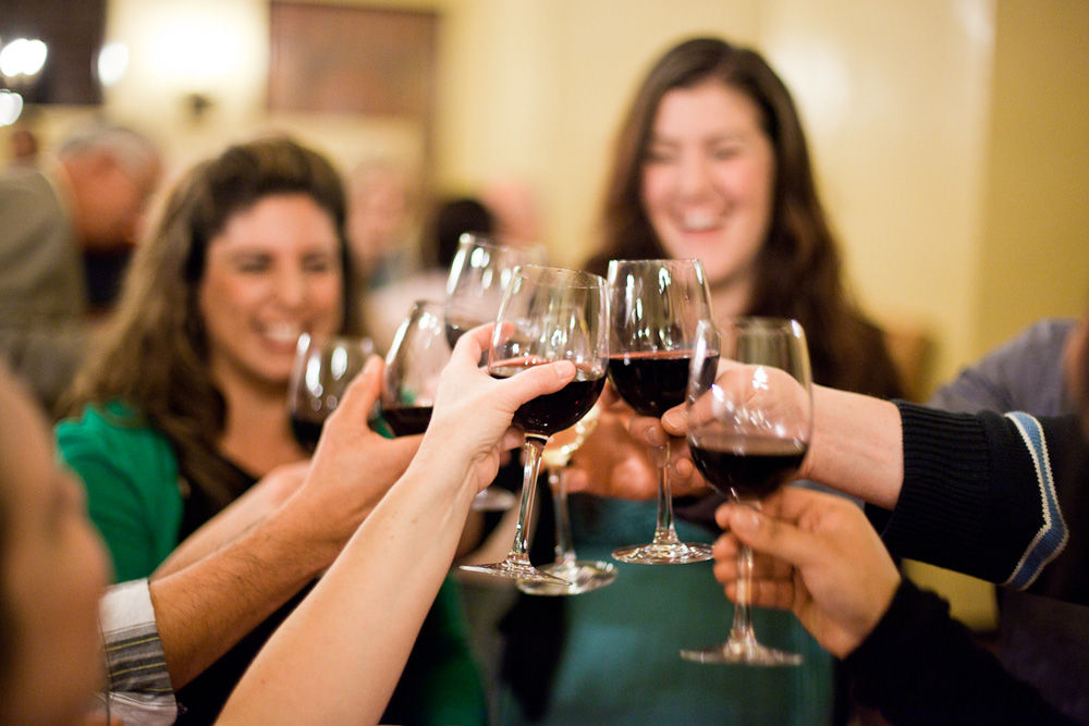 "Enjoy a ""Meet the Vintners"" welcome reception"