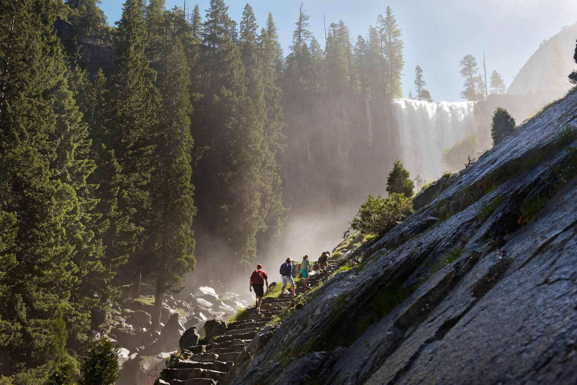 On your free time enjoy Yosemite's amazing outdoor recreation including hiking, biking, rock climbing and winter sports.
