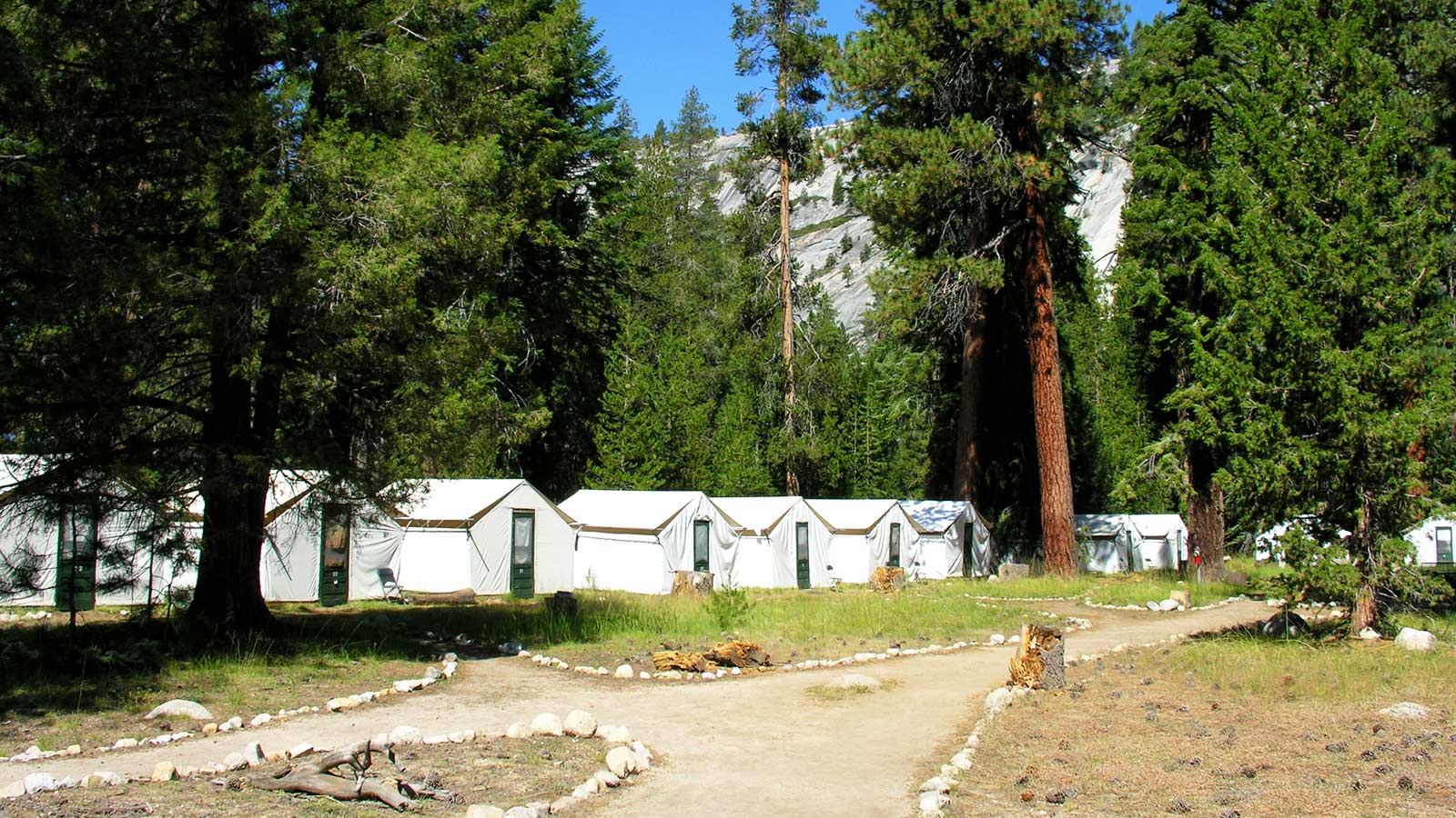 Merced Lake Camp
