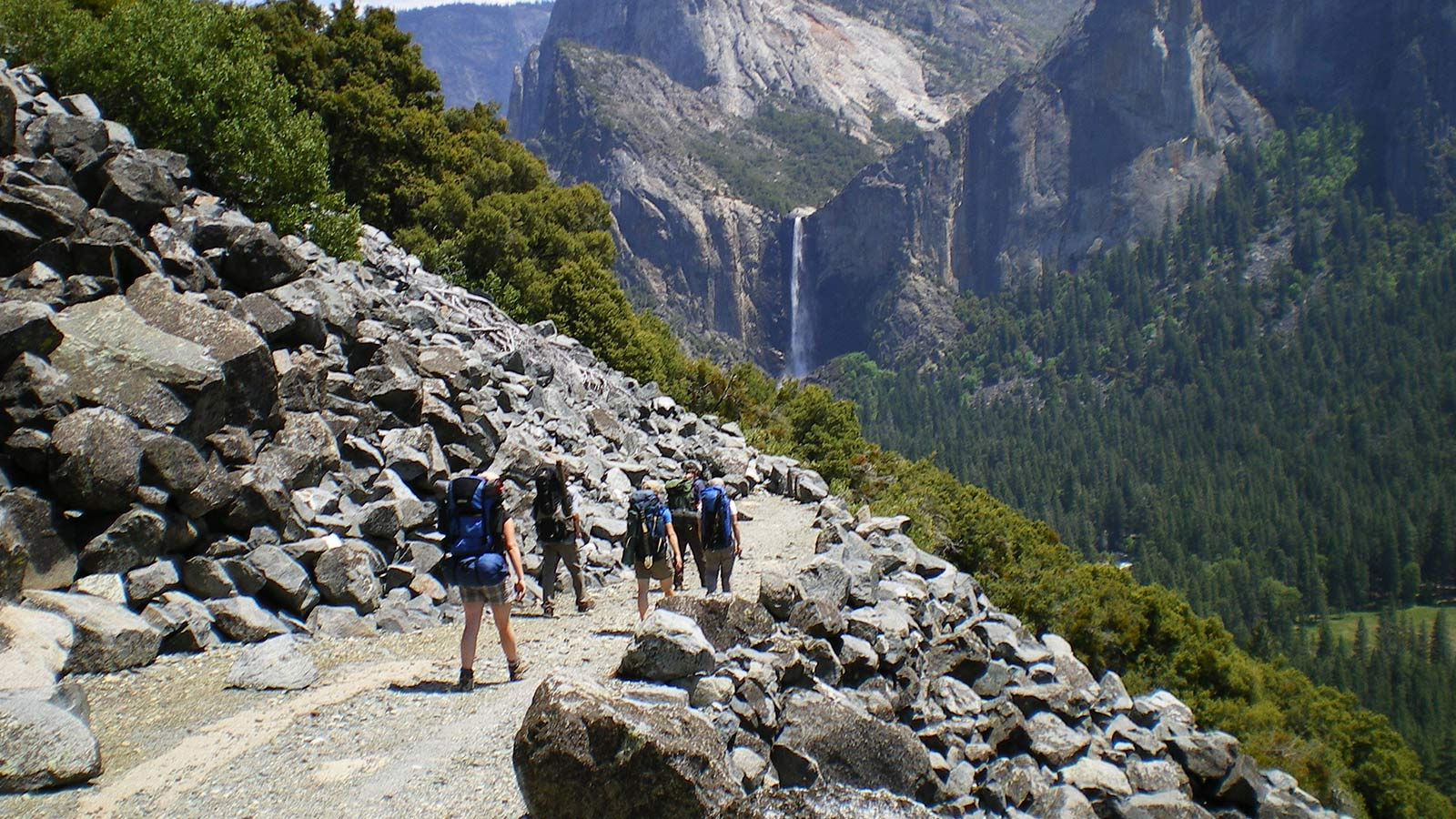 Guided backpacking trip in Yosemite
