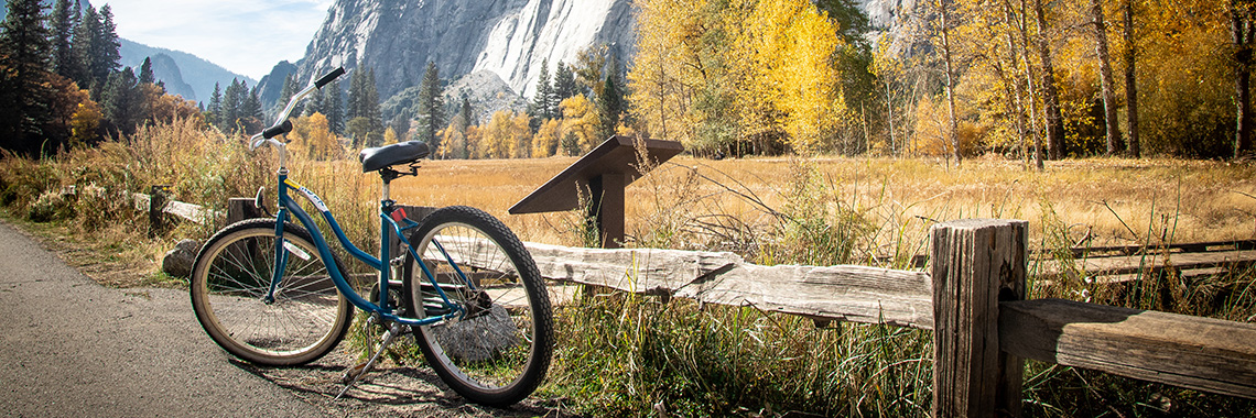 Bicycle in Yosemite Valley